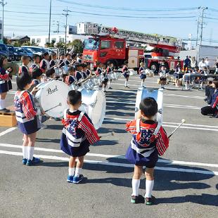 幼年消防 写真