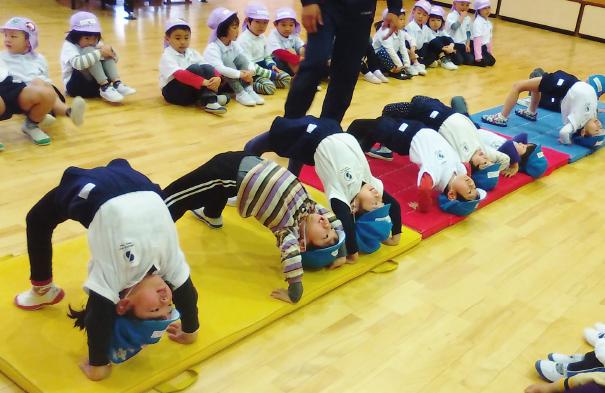 放課後体操クラブ 写真