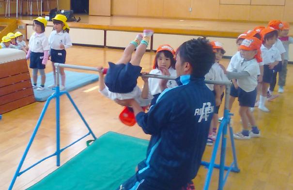 体操教室 写真