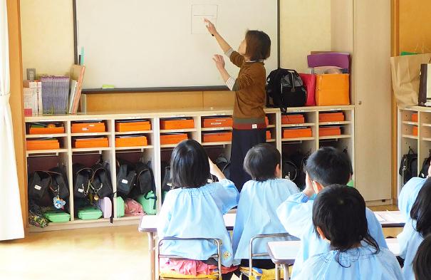 硬筆教室 写真